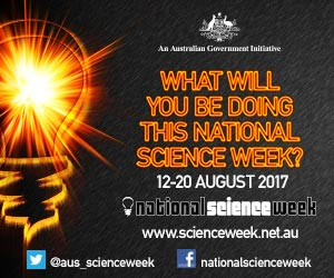 What will you be doing for National Science Week?
